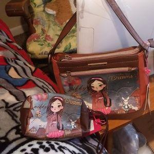 Travel Purse/ Cosmetic Bag.